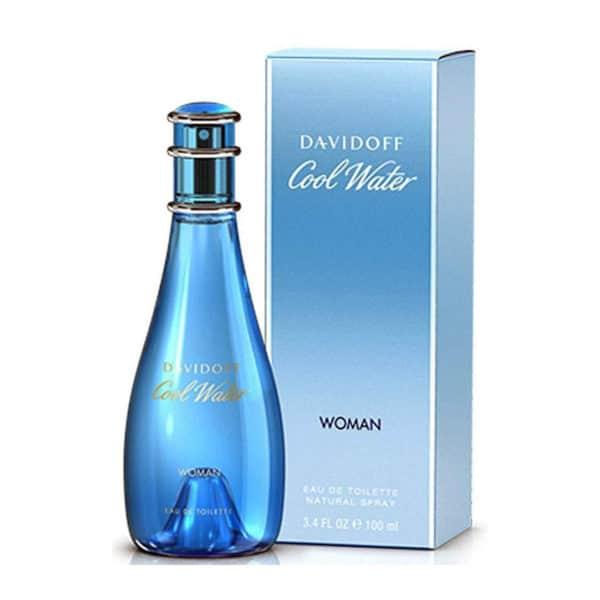Davidoff Cool Water Woman EDT 3 - Davidoff Cool Water Woman EDT 100ml