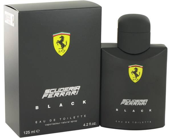 Ferrari Scuderia Black EDT 125ml 1 - Ferrari Scuderia Black EDT 125ml