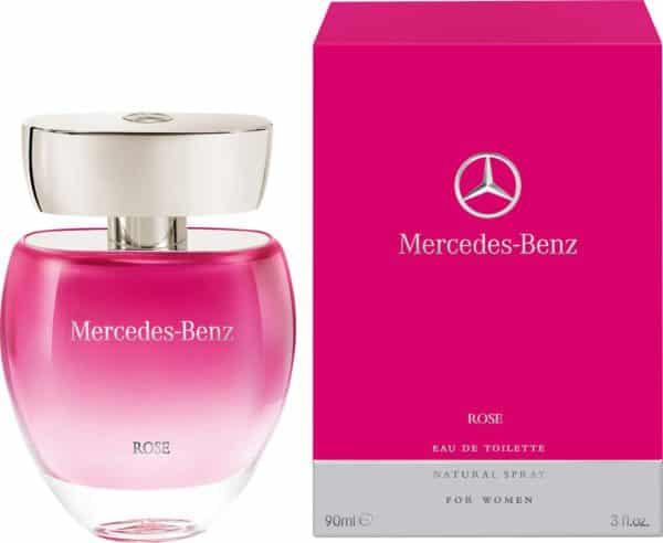 Mercedes Benz Rose EDT 100ml Women 3 - Mercedes Benz Rose EDT 100ml (Women)