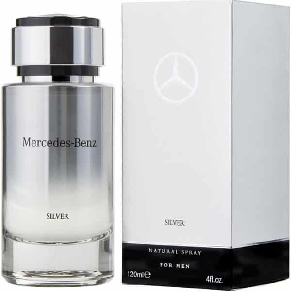 Mercedes Benz Silver EDT 120ml 1 - Mercedes Benz Silver EDT 120ml