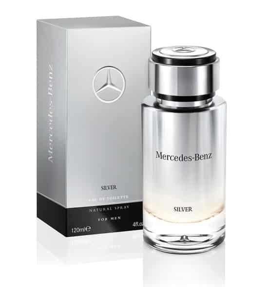 Mercedes Benz Silver EDT 120ml 3 - Mercedes Benz Silver EDT 120ml